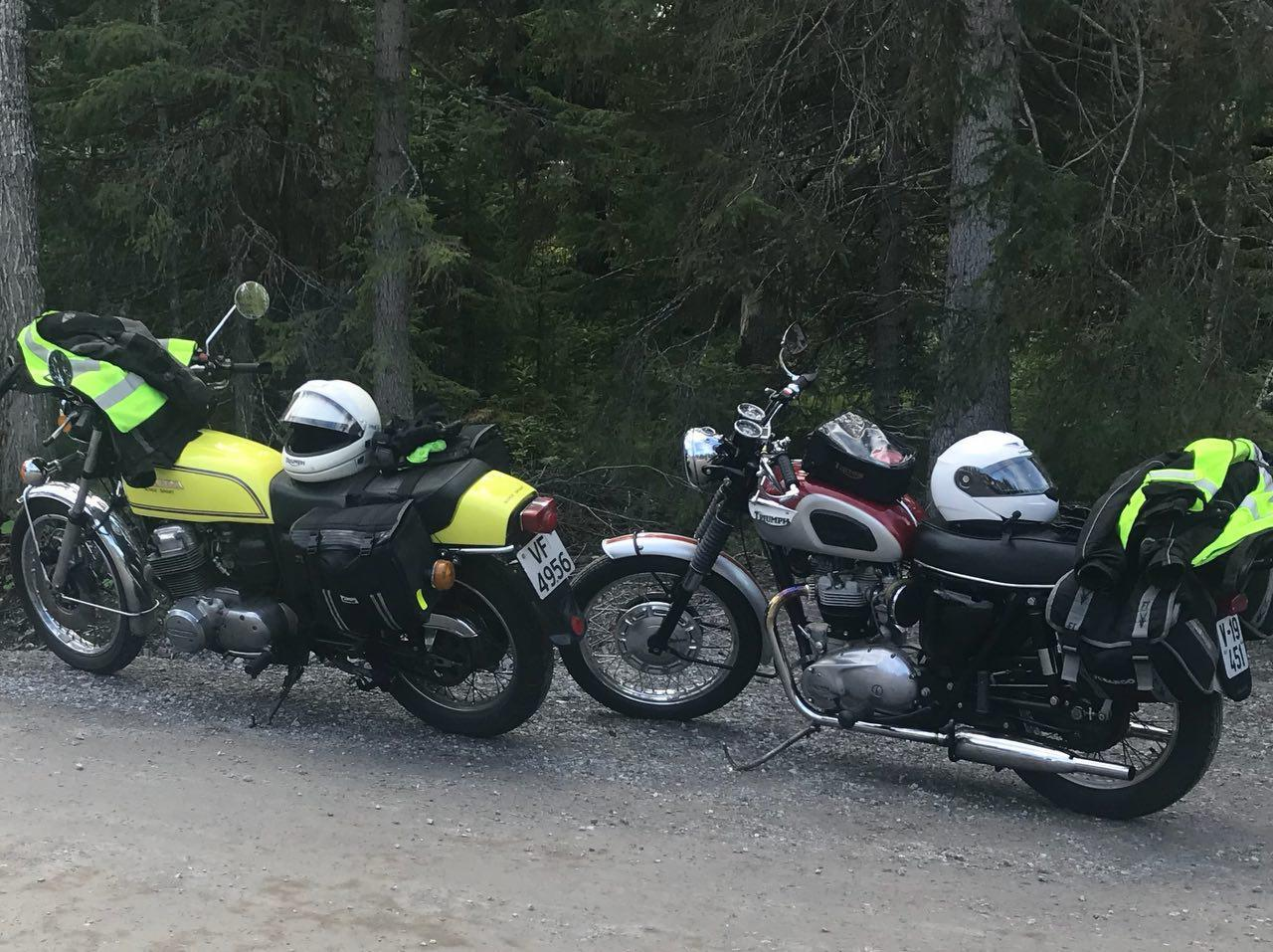 honda cb750f in sweden