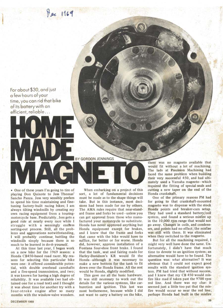 home made magneto honda cb450 page 01