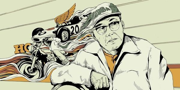 soichiro honda illustration by matt taylor 600px