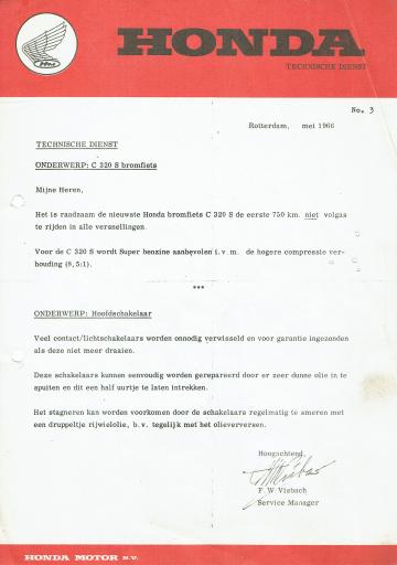 Servicebulletin 03 (1966)