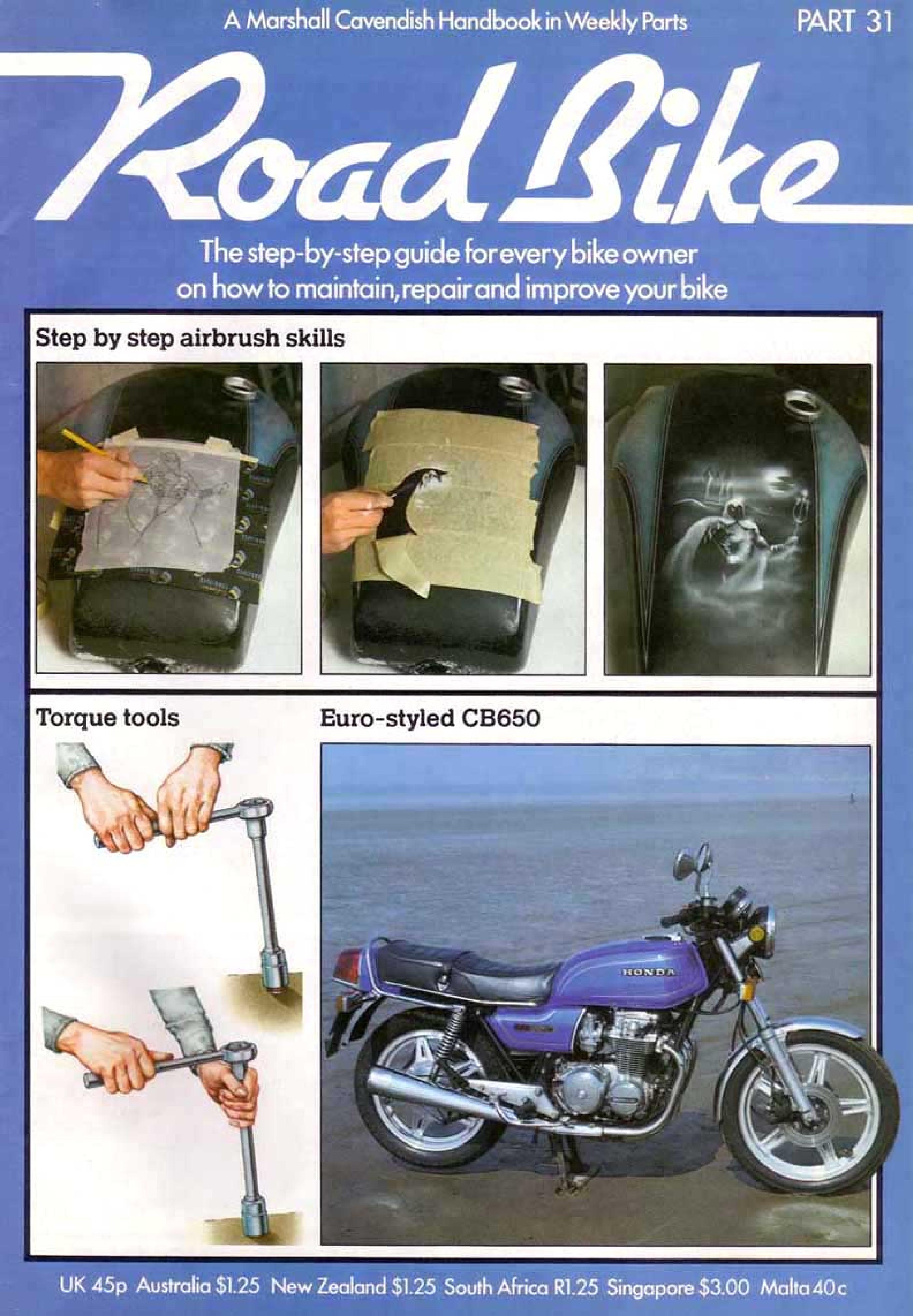 Road Bike Magazine about Honda CB650 (Part 31)