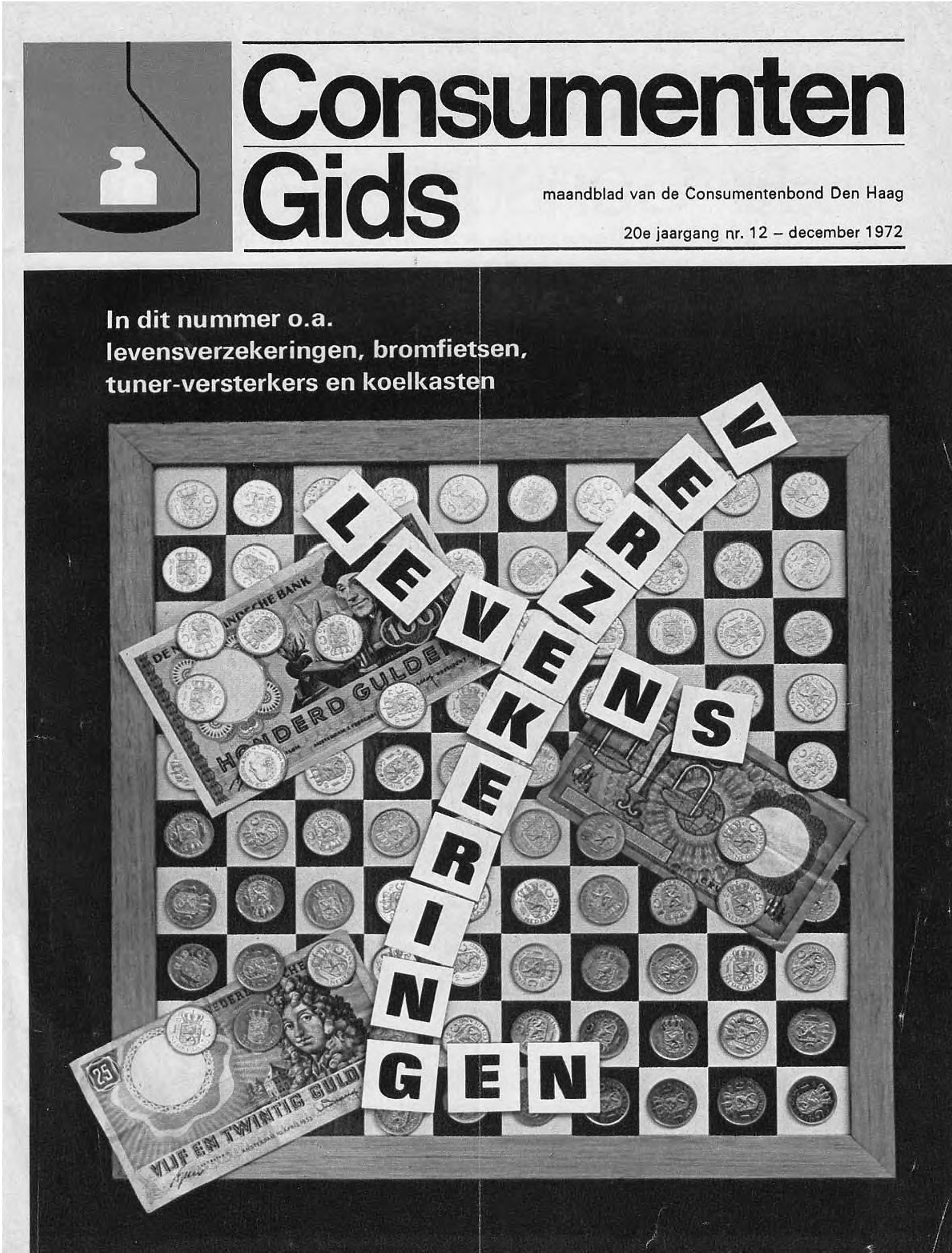 Bromfietstest Consumentengids December 1972