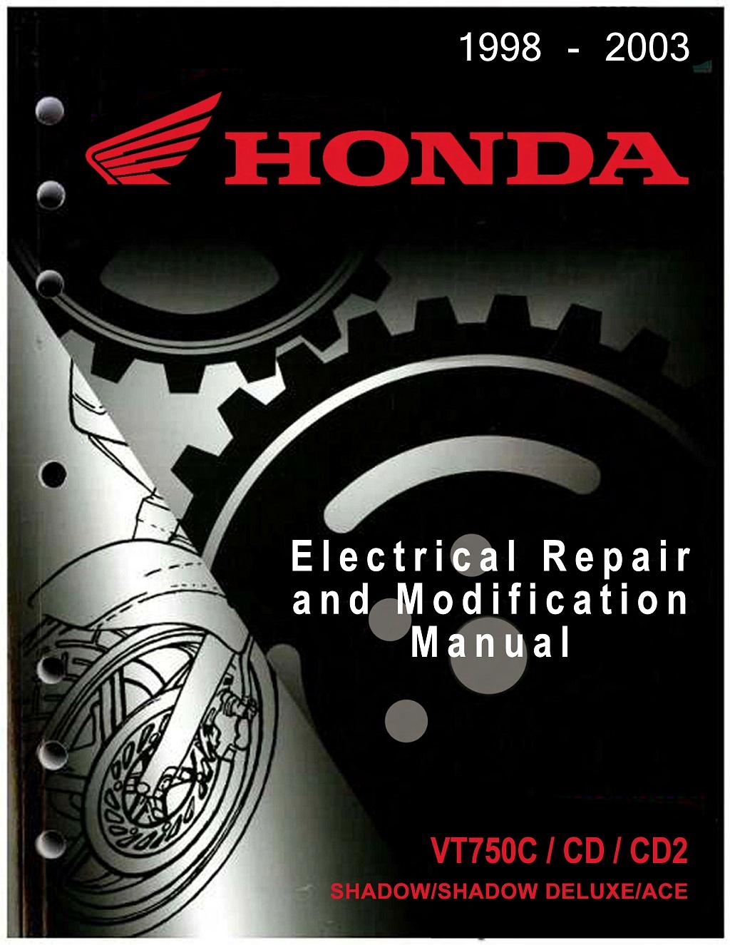 Workshop Manual for Honda VT750CD2 (1998-2003) Electrial Repair and Modification Manual